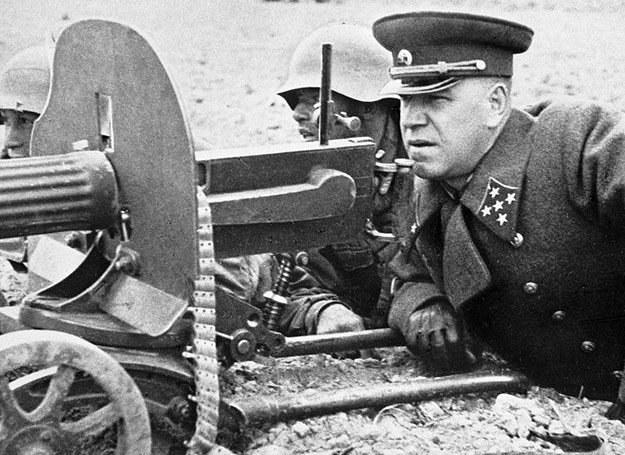 Gieorgij Żukow uważał, że w 1941 r. Niemcy nie docenili Rosjan... /East News