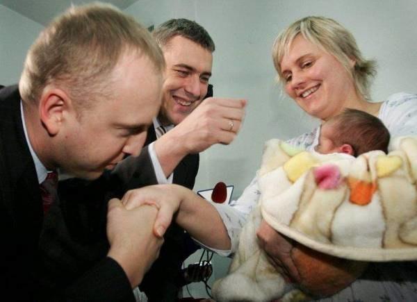 Giertych i Wierzejski nie popuszczą homoseksualistom; fot. m. Nabrdalik /Agencja SE/East News