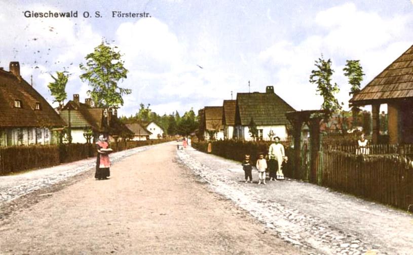 Gieschewald na zdjęciu archiwalnym. Źródło: www.giszowiec.info /&nbsp