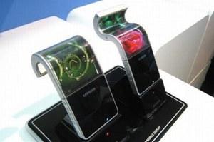 Giętki ekran Samsunga o przekątnej 5,5 cala na targach CES 2013