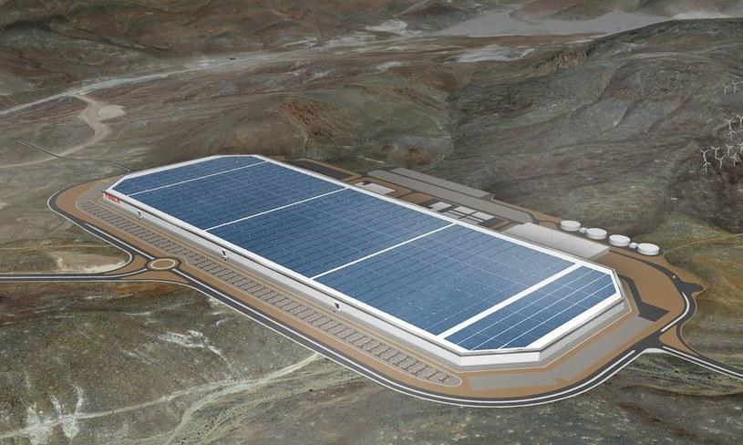 Gigafabryka znajduje się na pustyni w Newadzie /materiały prasowe