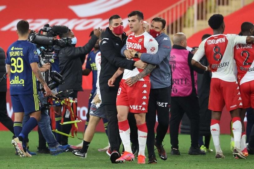 Gigantyczna awantura po meczu AS Monaco - Lyon /VALERY HACHE /AFP