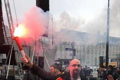 Gigantyczna fala protestów przeciwko polityce Macrona we Francji