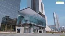 Gigantyczna iluzja optyczna na ekranie LED w Seulu. Zobaczcie największą wirtualną falę