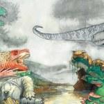 Gigantyczne bestie polowały na dinozaury 200 mln lat temu