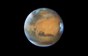 Gigantyczne tsunami nawiedzały północne rejony Marsa