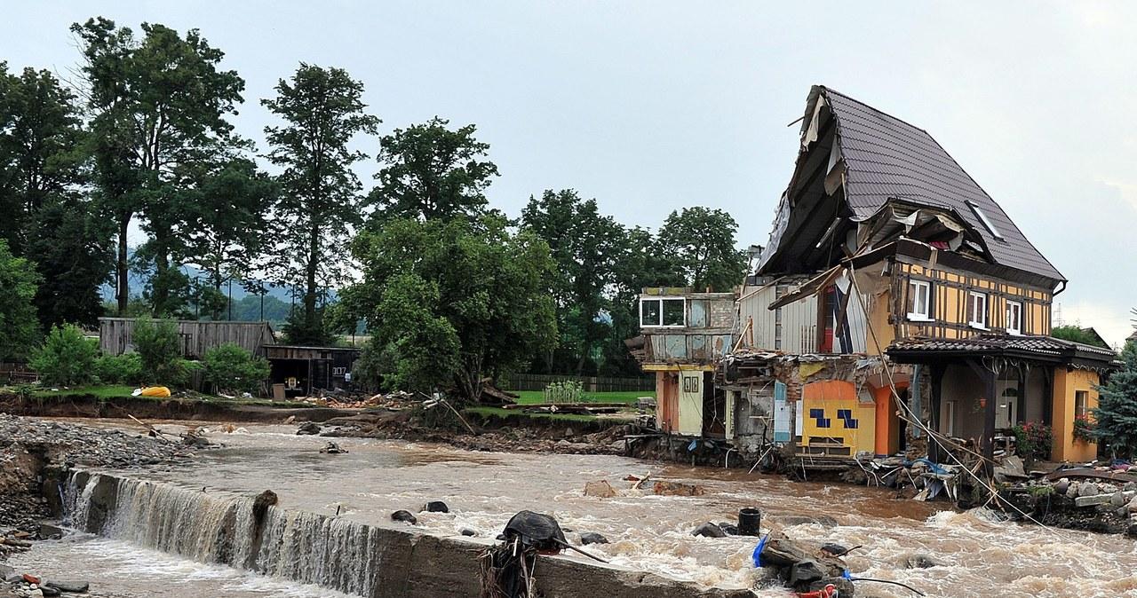 Gigantyczne zniszczenia w zalanej Bogatyni