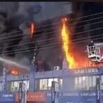 Gigantyczny pożar pochłonął ponad 400 sklepów z telefonami