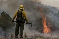 Gigantyczny pożar w Arizonie