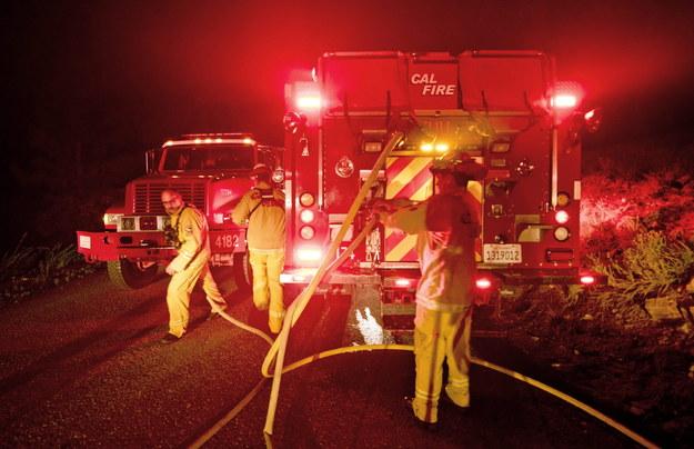 Gigantyczny pożar w Kalifornii strawił już ponad 1500 hektarów ziemi /STUART PALLEY /PAP/EPA