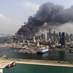 Gigantyczny pożar w porcie w Bejrucie został ugaszony