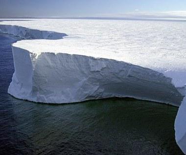 Gigantyczny termometr mierzy temperaturę lodowca