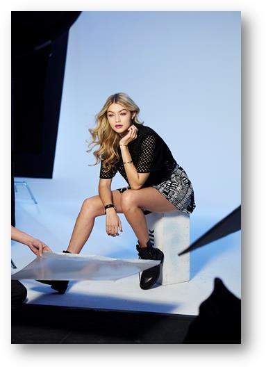 Gigi Hadid twarzą Maybelline New York /materiały prasowe