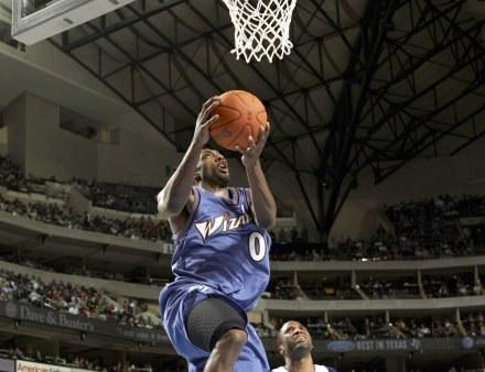 Gilbert Arenas zdobył dla Wizards 38 punktów w starciu z Knicks /AFP