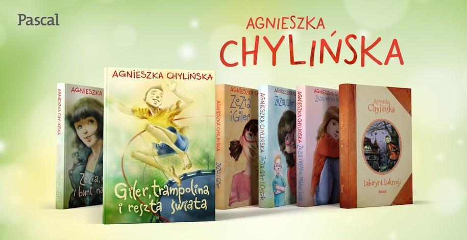 Giler, trampolina i reszta świata to szósta książka Agnieszki Chylińskiej /Materiały prasowe