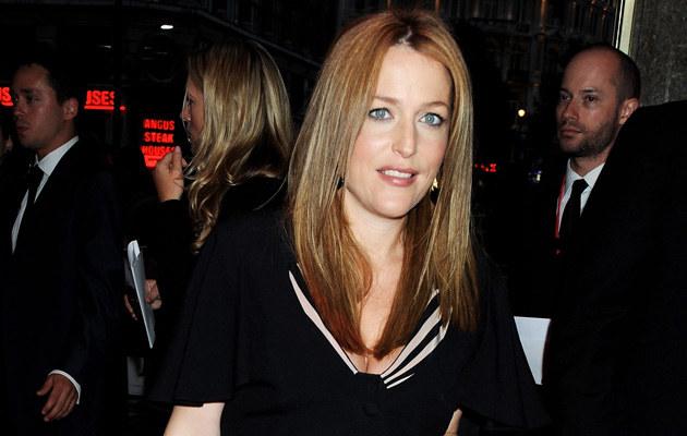 Gillian Anderson, fot. Dave M. Benett  /Getty Images/Flash Press Media