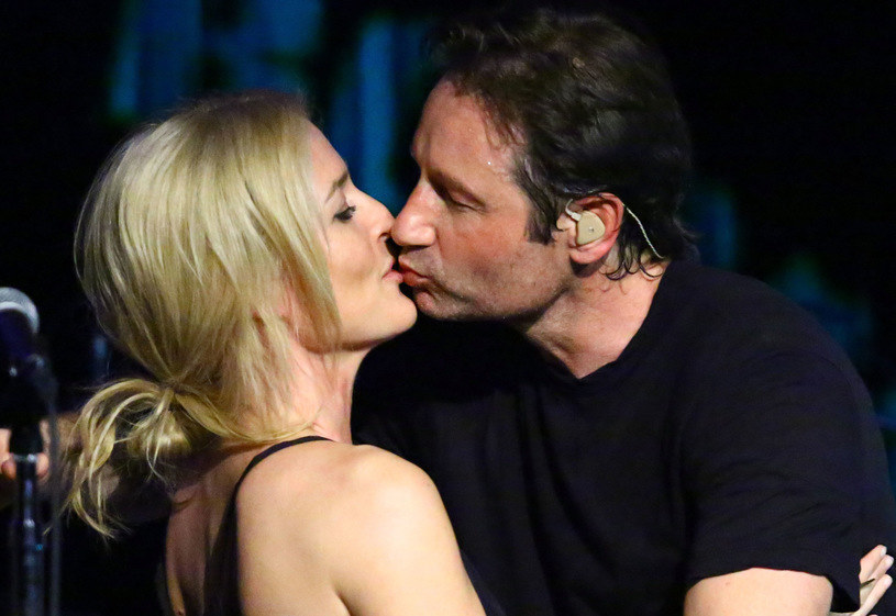 Gillian Anderson i David Duchovny /Getty Images