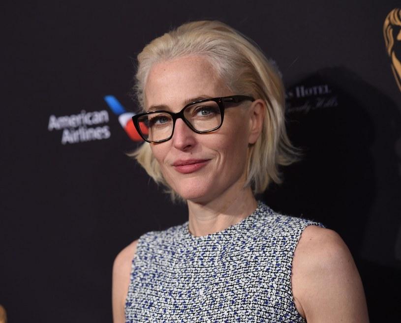 """Gillian Anderson zdobyła popularność dzięki roli w """"Z archiwum X"""" /AFP/East News"""
