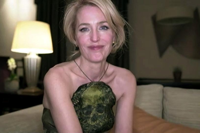 """Gillian Anderson została doceniona za rolę w """"The Crown"""" /Getty Images"""