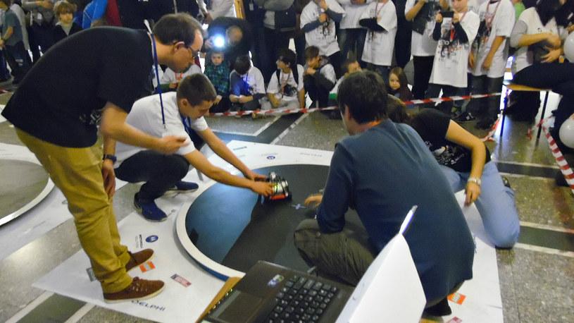 Gimnazjaliści mają już pewne doświadczenie w konstruowaniu robotów /materiały prasowe