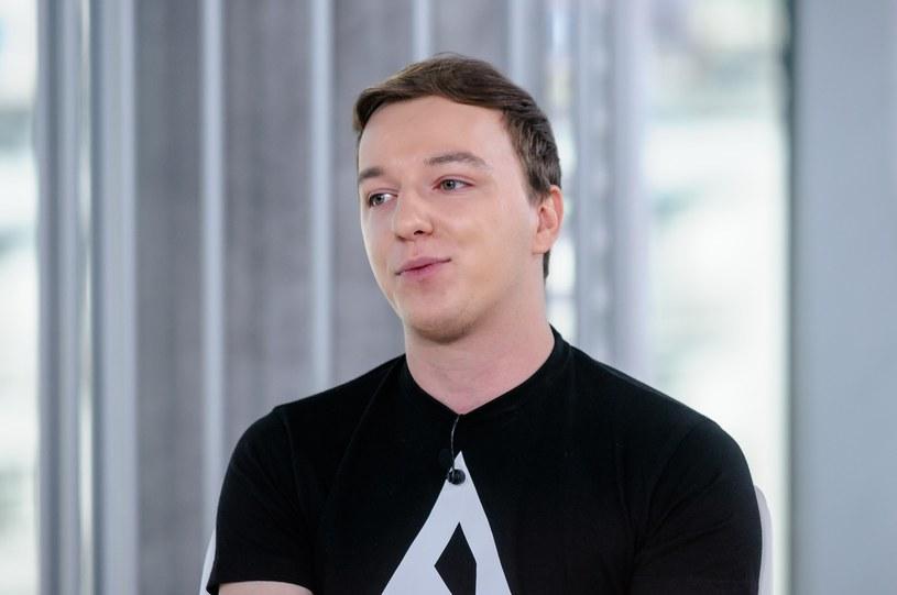 Gimpson czyli znany youtuber Gimper /Tomasz Urbanek /East News