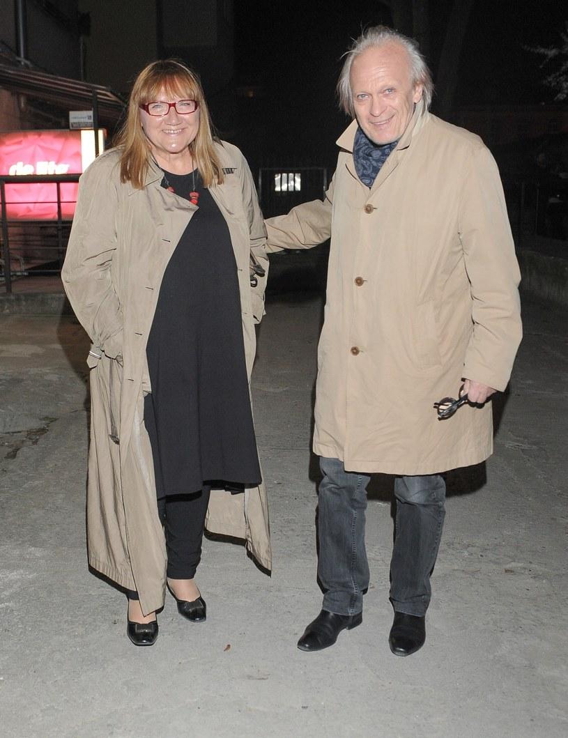Gina i Wiesław Komasa /Tricolors /East News