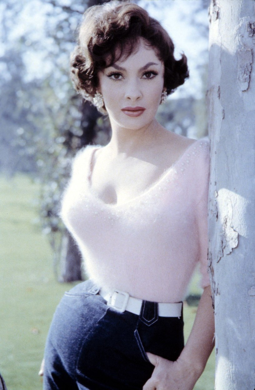 Gina Lollobrigida w 1955 roku /Everett Collection /East News