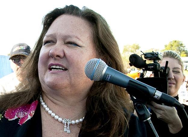 Gina Rinehart największy indywidualny podatniki Australii /AFP