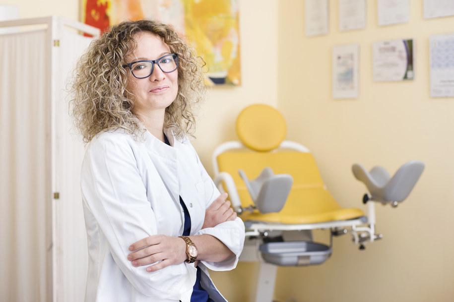 ginekolog lek. med. Marta Mączka /Materiały prasowe