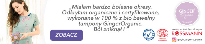 ginger organic content box /materiały promocyjne