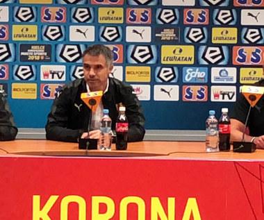Gino Lettieri po meczu z Zagłębiem Lubin (0-2). Wideo