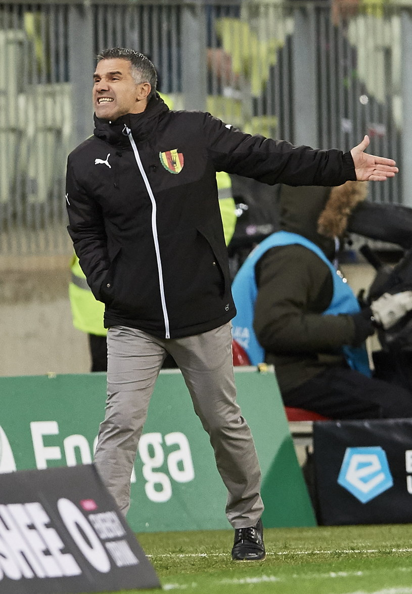 Gino Lettieri, trener Korony /AFP
