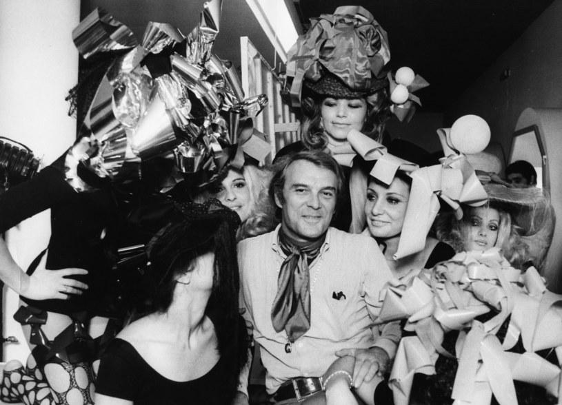 """Giorgio Albertazzi w latach 70. na planie filmu """"Gradiva"""" /Keystone /Getty Images"""