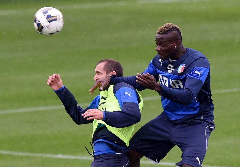 Giorgio Chiellini i Mario Balotelli /Claudio Villa /Getty Images
