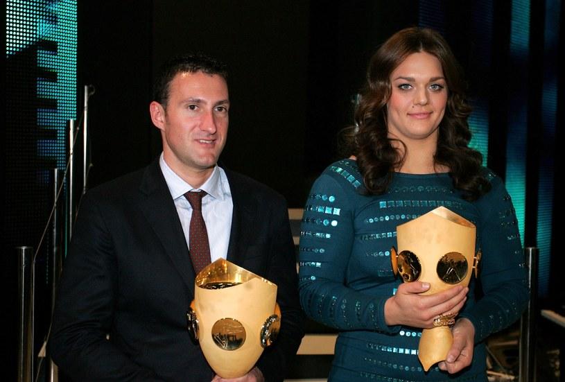 Giovanni Cernogoraz i Sandra Perkovic /AFP