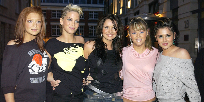 Girls Aloud w 2003 roku /Bruno Vincent /Getty Images