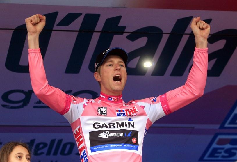 Giro d'Italia 2012 wygrał Ryder Hesjedal /AFP