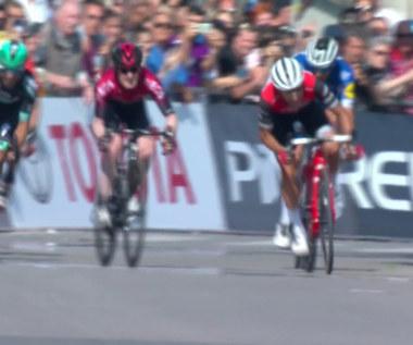 Giro d'Italia. Cesare Benedetti wygrał 12. etap, Polanc nowym liderem. Wideo