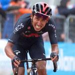 Giro d'Italia. Egan Bernal wygrał etap i został liderem