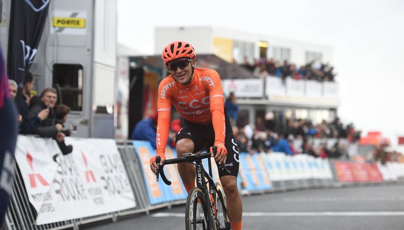 Giro d'Italia. Kamil Małecki czwarty na 16. etapie