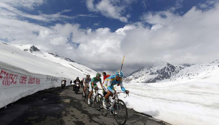 Giro d'Italia. Kolarze nie wjadą na przełęcz Gavia