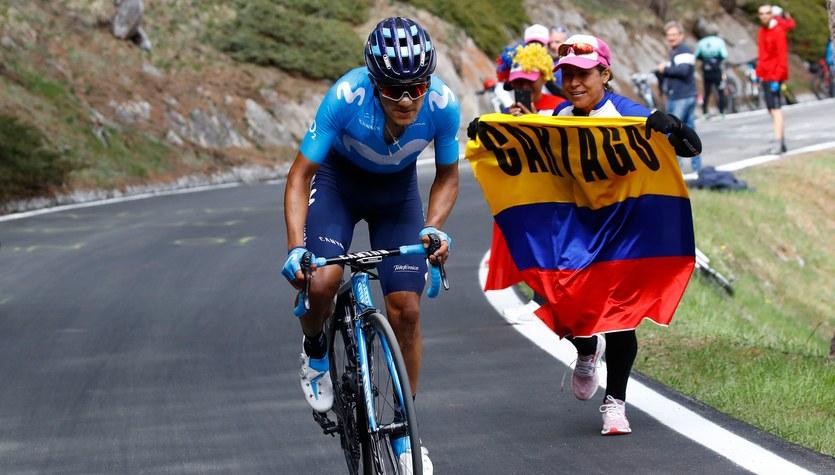 Giro d'Italia. Richard Carapaz wygrał 14. etap i został liderem, Rafał Majka czwarty