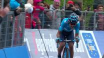 Giro d'Italia. Richard Carapaz wygrał 14. etap, Rafał Majka czwarty. Wideo