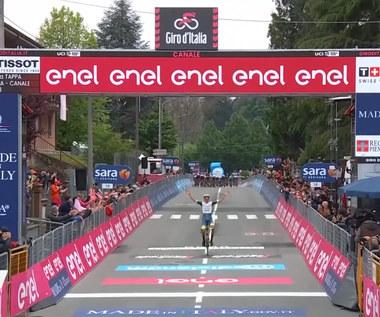 Giro d'Italia. Van der Hoorn zwycięstwą drugiego etapu. Wideo