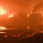 GIS: Pożar odpadów niebezpiecznych dużo gorszy niż smog