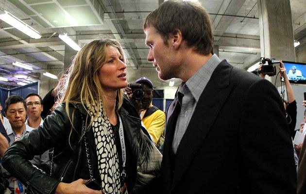Gisele Bundchen i Tom Brady ponoć myślą o rozwodzie! /Rob Carr /Getty Images