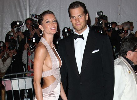 Gisele Bundchen i Tom Brady /Getty Images/Flash Press Media
