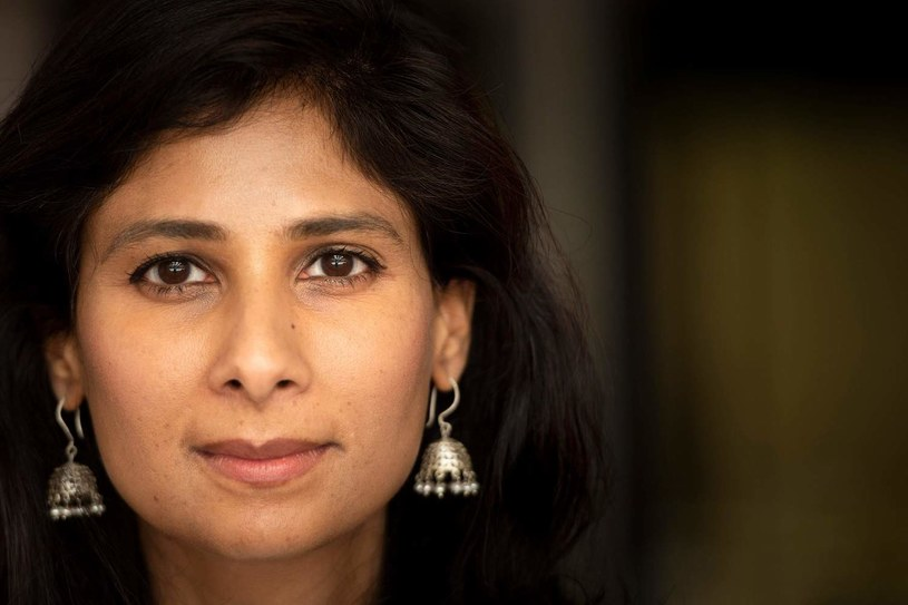 Gita Gopinath, główna ekonomistka MFW /AFP