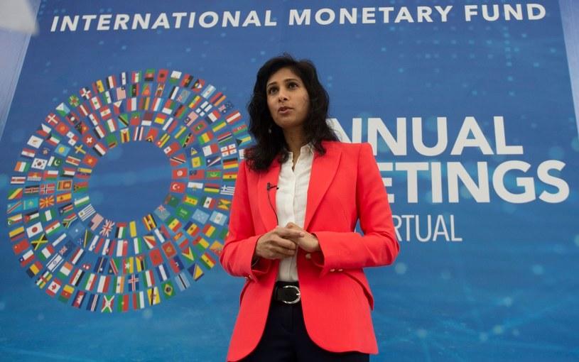 Gita Gopinath, główna ekonomistka MFW /ANDREW CABALLERO-REYNOLDS /AFP