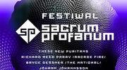 Gitarzysta The National na Sacrum Profanum